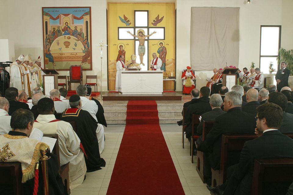 Inauguration d'une église chaldéenne en Île de France:  cette importante communauté parle la langue du Christ au cœur de la France!