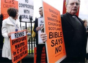 «Mariage» homosexuel autorisé pour les pasteurs de l'Église presbytérienne d'Écosse