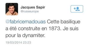 Démolir la basilique du Sacré-Cœur ? Selon Libération, la proposition «a le mérite d'ouvrir un débat occulté»