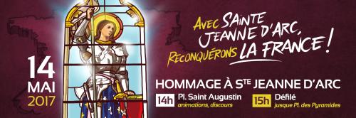 Jeanne d'Arc ou Macron, ce 14 mai il faut choisir – Civitas lance un appel à la jeunesse de France