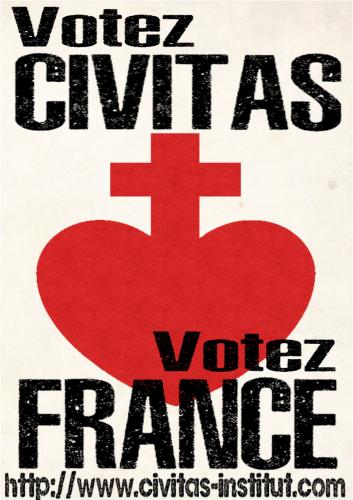 Message vidéo de Le Pen aux Calaisiens : votez CIVITAS !