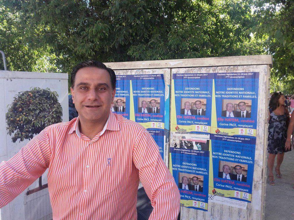 L'avocat maurrassien Elie Hatem est candidat Civitas dans la 7e circonscription du Var