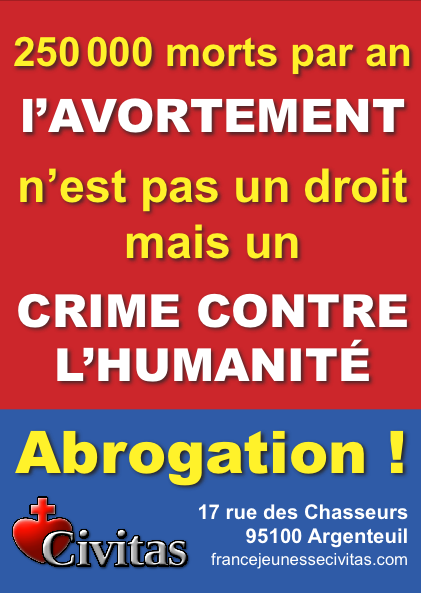 Alain Escada : «Ne pleurez pas Simone Veil, avorteuse, immigrationniste et mondialiste»