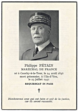 L'Adresse au Maréchal Pétain par Mgr Lefebvre (13 avril 1987 à l'Ile d'Yeu)