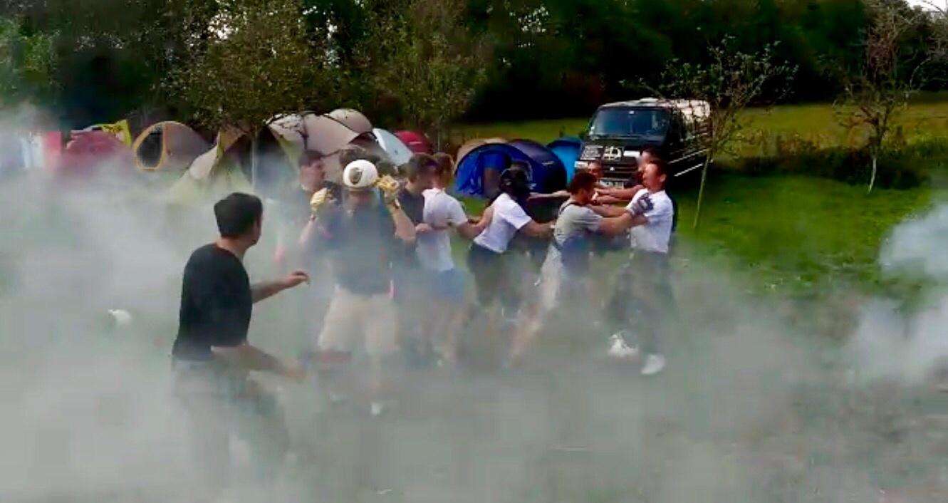 Reportage – Camp d'été France Jeunesse Civitas, promotion «Saint Michel»