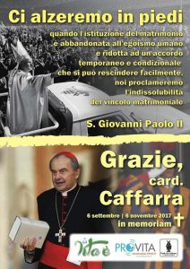 A Rome : un camion avec des panneaux remerciant Jean-Paul II dans sa lutte contre l'avortement arrêté par la police