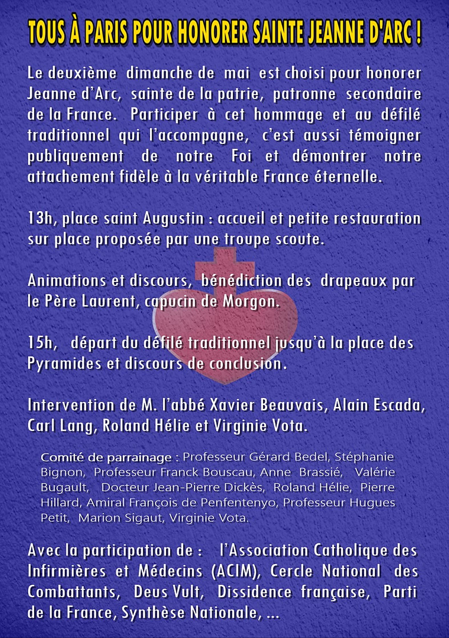 Le chant «Domine, salvam fac Galliam» (Dieu, protège la France)