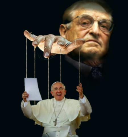Comment Georges Soros fait du pape François un agent du Nouvel Ordre Mondial