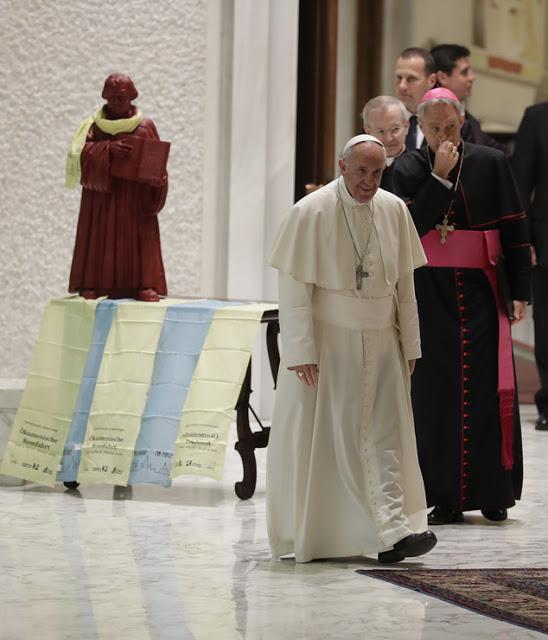 Vatican : Luther bientôt canonisé par François ?