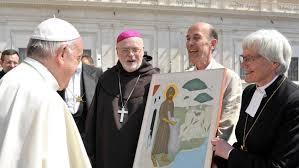 Le pape François «like» l'évêque luthérienne Antje Jackelén