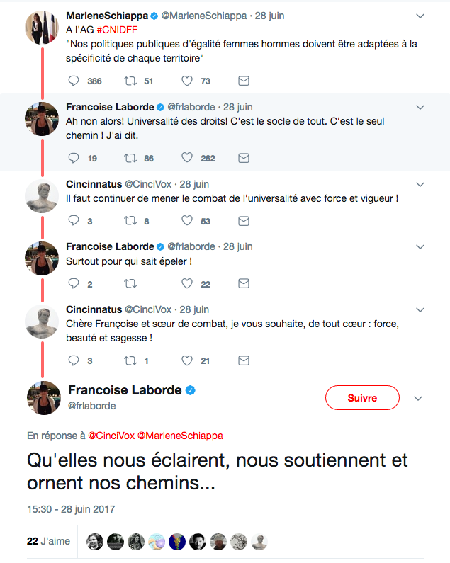 Querelle maçonnique entre la secrétaire d'Etat Marlène Schiappa et l'ex-journaliste Françoise Laborde