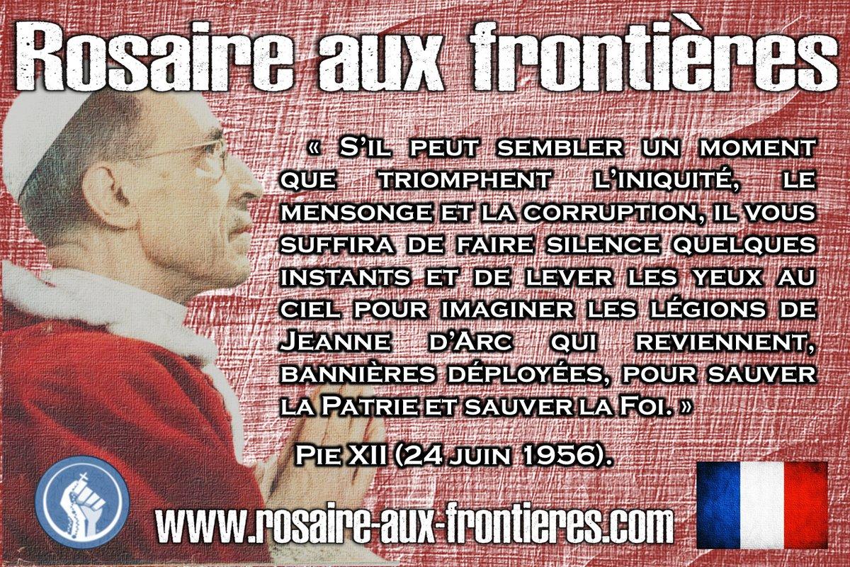 35 premiers lieux pour le Rosaire aux Frontières – Et chez vous ?