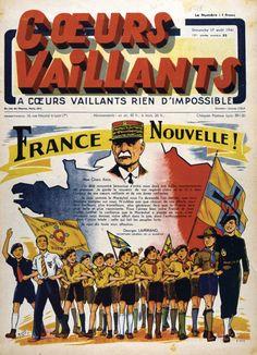 Images d'archives – Vichy et la Patrie