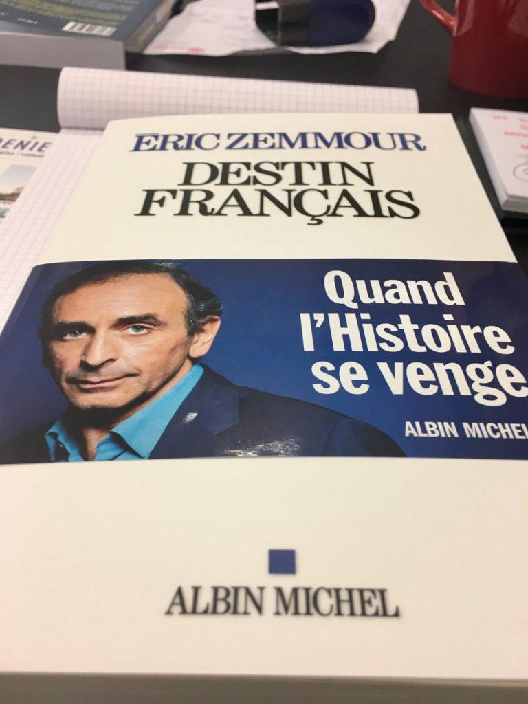 """Pierre Hillard réagit au livre """"Destin français"""" d'Eric Zemmour"""