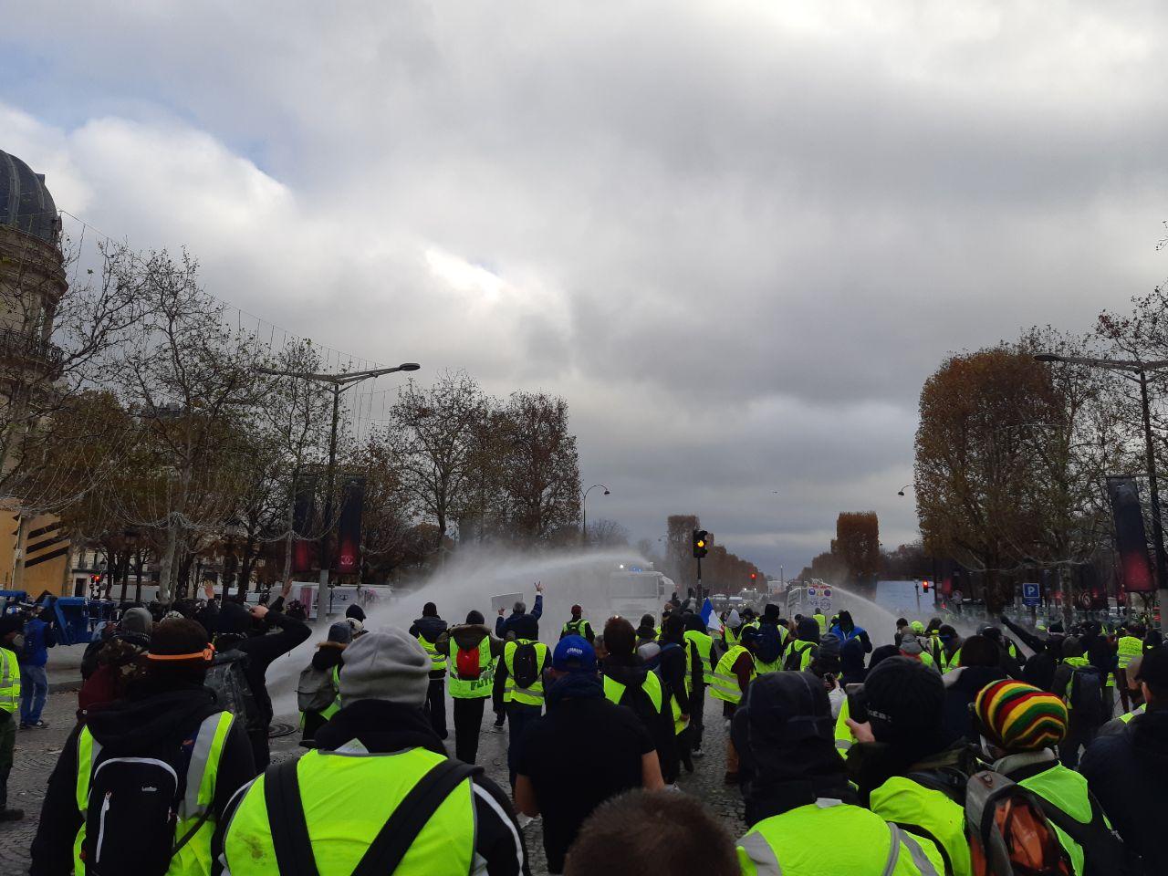 Civitas sera encore parmi les Gilets Jaunes le 1er décembre 2018 – Récit d'une mobilisation qui dure