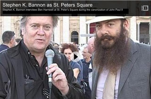 """Le nouveau projet de Steve Bannon : une académie """"judéo-chrétienne"""" installée en Italie pour former une """"élite populiste"""""""