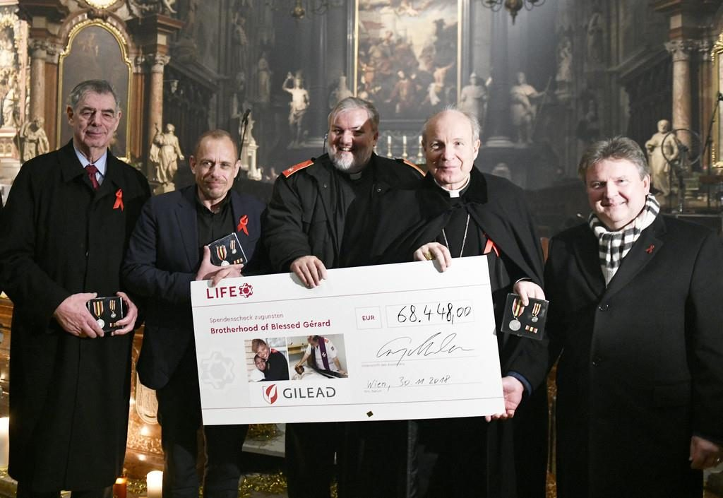Profanation de la cathédrale de Vienne avec la bénédiction du cardinal-archevêque Schönborn