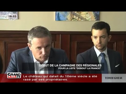 La grand écart de Dupont-Aignan avec Jean-Frédéric Poisson pro-LMPT et Jean-Philippe Tanguy pro-LGBT