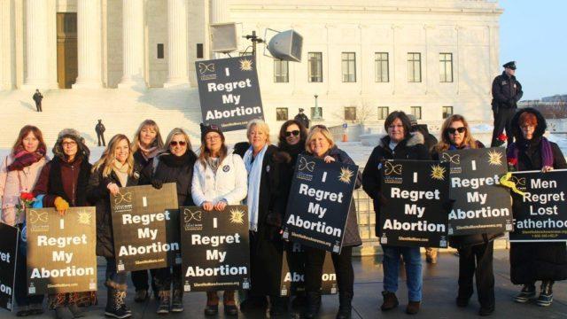 L'AVORTEMENT, CRIME CONTRE l'HUMANITÉ dans sa plus stricte acception (excommunication latae sententiae) L-regret-abortion-1024x597-640x360