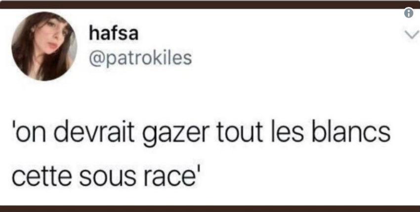 """Après avoir appelé à """"gazer les Blancs"""", Hafsa Askar, vice-présidente de l'UNEF Lille, se moque de l'incendie à Notre-Dame"""