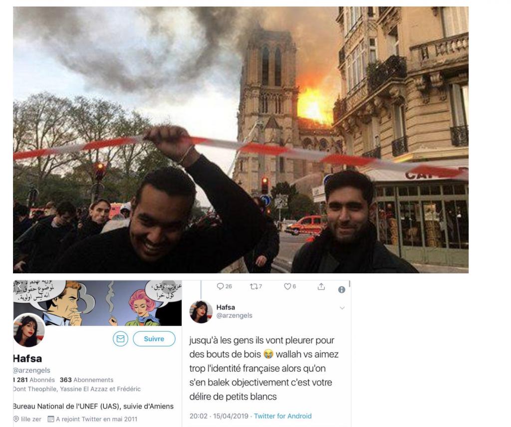 Notre-Dame-de-Paris brûle et certains se réjouissent