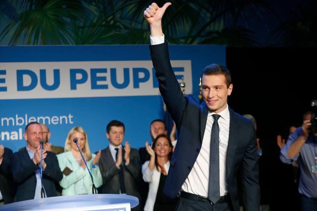 Marine Le Pen se réjouit mais son parti perd un député européen en comparaison de 2014
