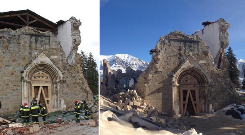Le gouvernement italien finance la reconstruction de 600 églises