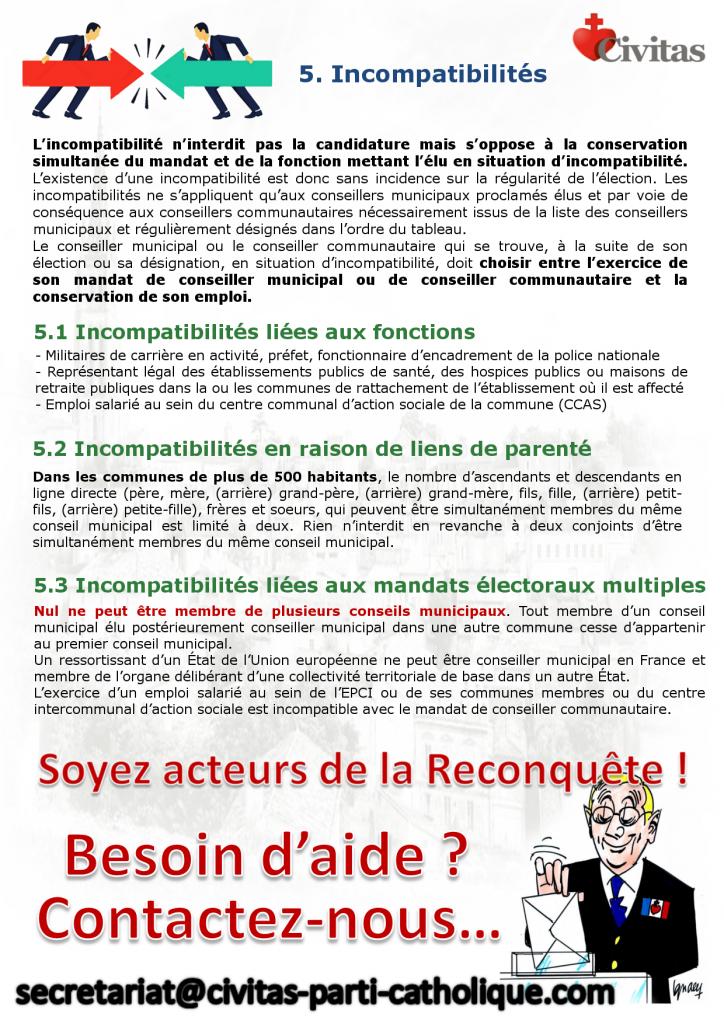 Municipales 2020 – Des fiches de Civitas pour multiplier les listes d'intérêt municipal portées par des catholiques