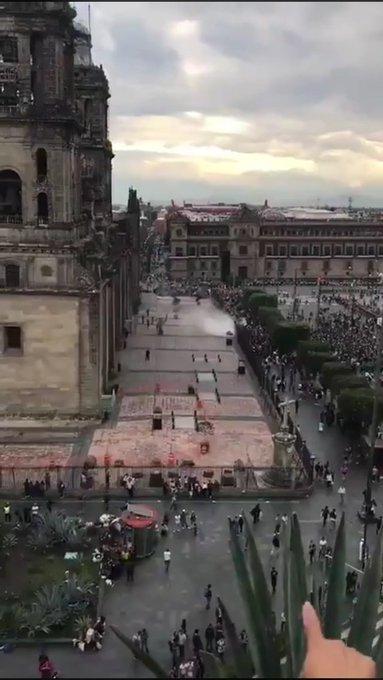 Les féministes pro-avortement tentent d'incendier la cathédrale de Mexico