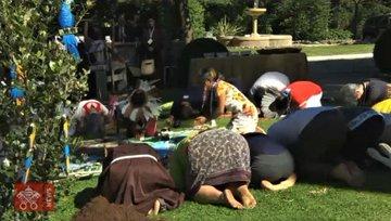 Rituel païen dans les jardins du Vatican pour le Synode sur l'Amazonie