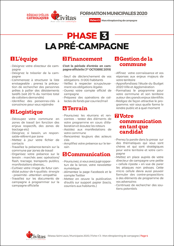 Être candidat aux élections municipales de 2020 – Fiche n°2 pour préparer les élections