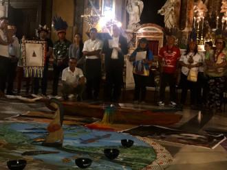 """""""Messe"""" païenne pendant le Synode sur l'Amazonie"""