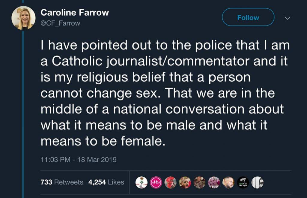 Une journaliste catholique harcelée par le lobby LGBT et menacée de prison pour avoir dénoncé la réalité des mutilations d'un adolescent pour en faire un transgenre