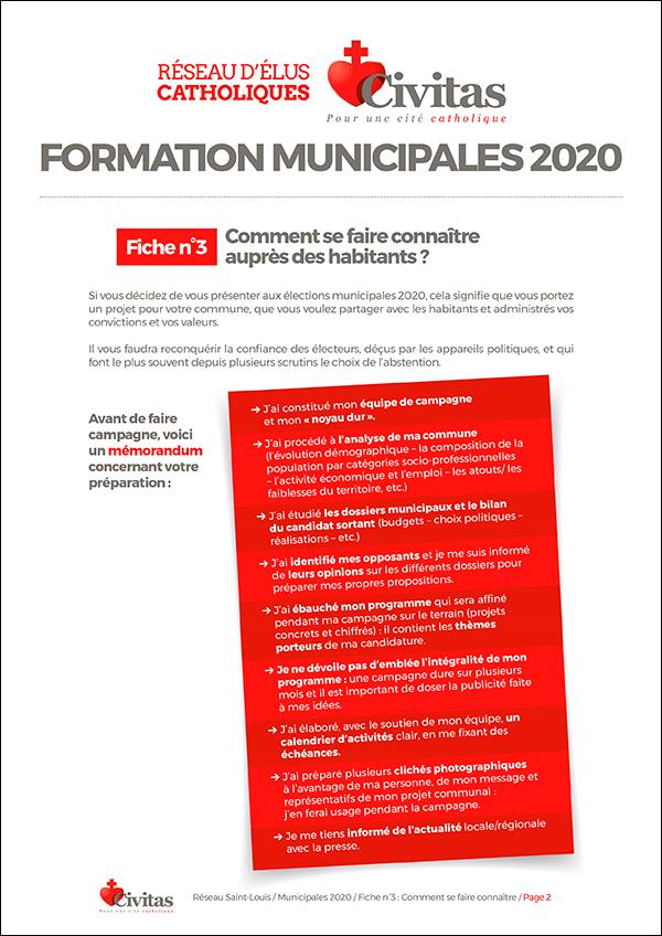 Elections municipales – Partez à la conquête de votre commune pour servir le bien commun