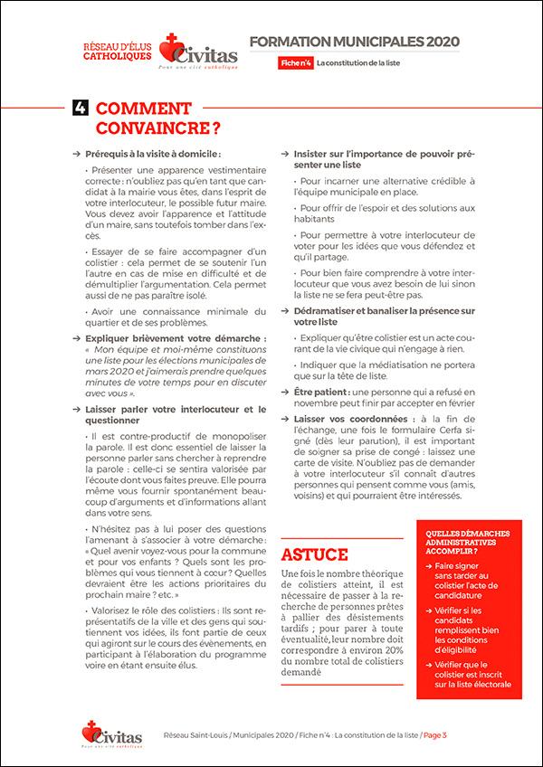 Municipales 2020 – Constitution d'une liste : qui démarcher, comment convaincre ?
