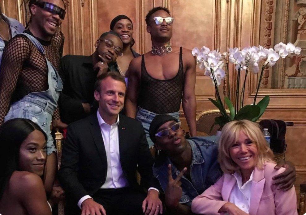 Macron considère qu'une femme peut être un père… Voyage en Absurdie