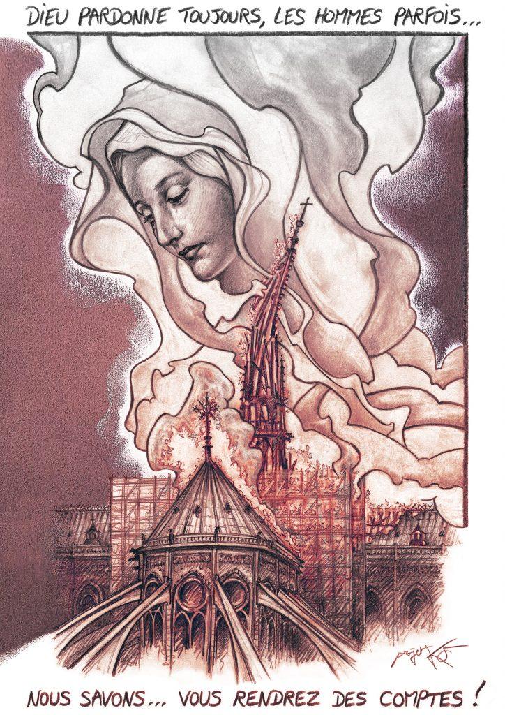 Désacraliser Notre-Dame de Paris ? L'ignoble proposition publiée dans La Croix…