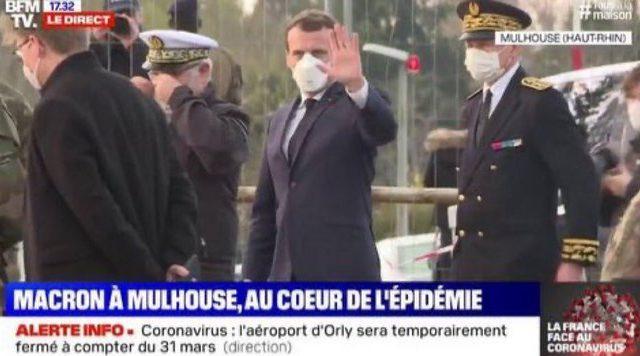 News au 25 avril 2020 Macron-masque-mulhouse-640x356