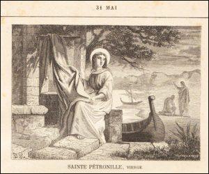 Dimanche 31 mai 2020 – Dimanche de la Pentecôte – Sainte Pétronille, Vierge – Bienheureuse Vierge Marie Reine