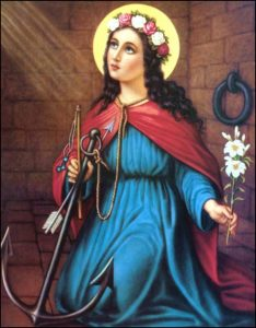 Mardi 11 août 2020 – De la férie – Saints Tiburce et Suzanne, Martyrs – Sainte Philomène, Vierge et Martyre