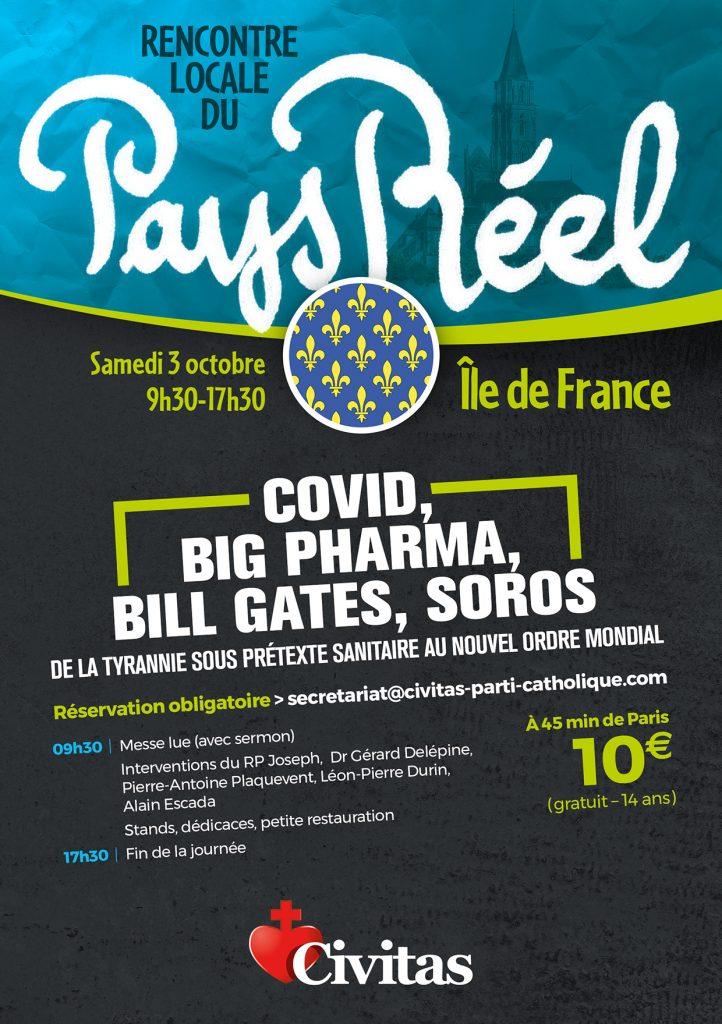 ProjetKO vous attend le 3 octobre 2020 à la Rencontre locale du Pays Réel en Île-de-France