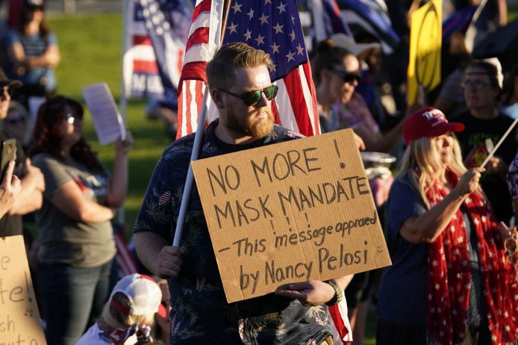 De nombreux Américains mobilisés contre le masque et la dictature sanitaire