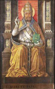 Mercredi 7 octobre 2020 – Notre-Dame du Très Saint Rosaire – Saint Marc, Pape et Confesseur – Saint Palais (ou Pallade), Evêque de Saintes