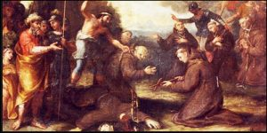 Samedi 10 octobre 2020 – Saint François de Borgia, Confesseur – Saint Daniel et ses compagnons, Martyrs, 1er Ordre capucin