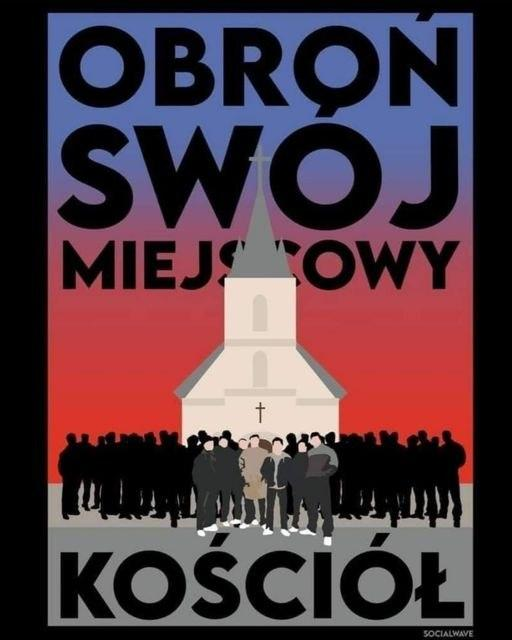 Pologne – Profanations d'églises par des militants pro-avortement chassés par des supporters de foot !