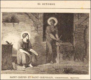 Dimanche 25 octobre 2020 – Fête de Notre-Seigneur Jésus-Christ, Roi – XXI° dimanche après la Pentecôte – Saints Chrysanthe et Darie, Martyrs – Saints Crépin et Crépinien Cordonniers, Martyrs