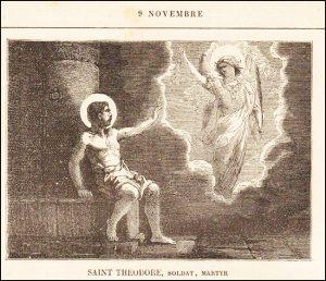 Lundi 9 novembre 2020 – Dédicace de l'Archibasilique du Très-Saint-Sauveur – Saint Théodore, Soldat, Martyr
