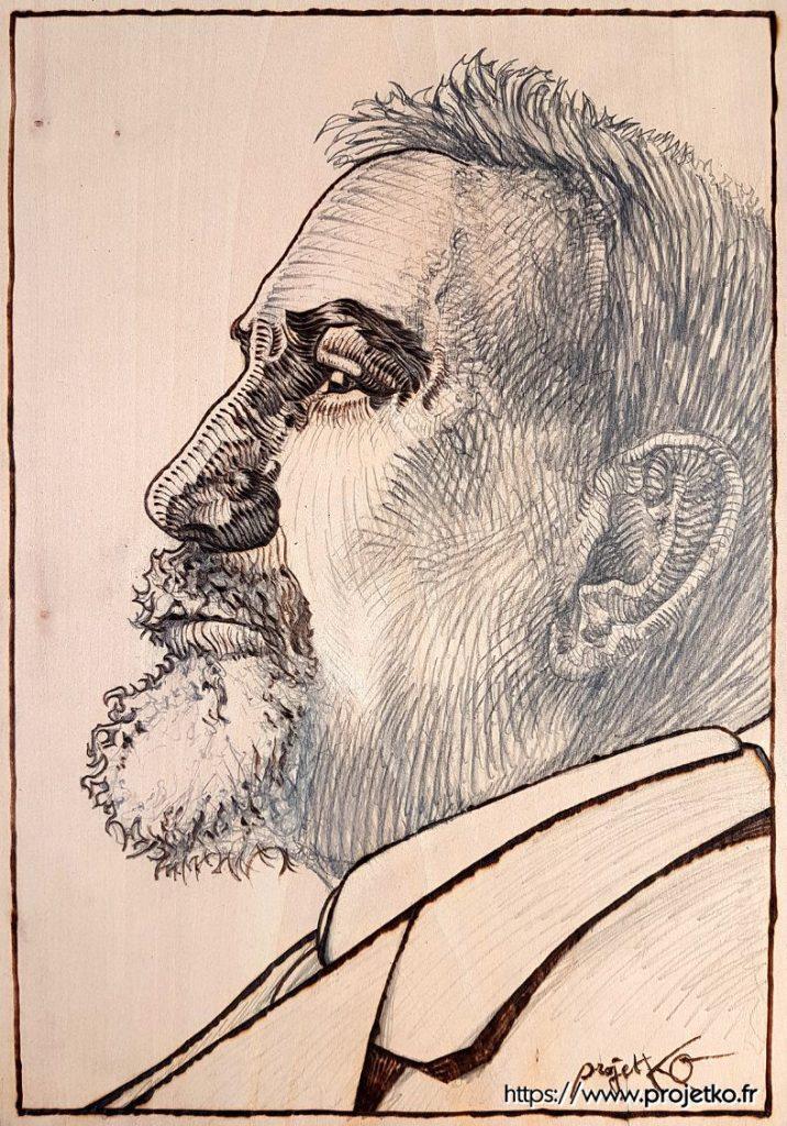 Portrait de Charles Maurras