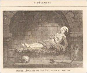 Mercredi 9 décembre – De la férie – Saint Pierre Fourier, Fondateur de la Congrégation de Notre-Dame – Sainte Léocadie de Tolède, Vierge et Martyre