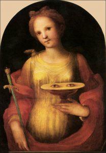 Dimanche 13 décembre 2020 – III° Dimanche de l'Avent – Sainte Lucie, Vierge et Martyre – Sainte Odile, Vierge et Abbesse.